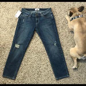 Paige Jimmy Jimmy Crop Jeans Size 25 NWT